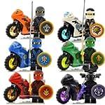 Todwish 6 motor sets Minifigures Jay...