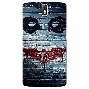 Jugaaduu Villain Joker Back Cover Case For OnePlus One