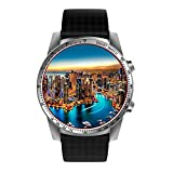 Kingwear KW99 Smart Watches with Android 5.1, IOS,1.39 inch AMOLED, HD Display,Gps Heart Rate Watch, Information Synchronization, Phone Function, WIFI, Weather, Calendar, Anti-lost and Remote Control.