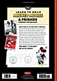Learn to Draw Mickey Mouse & Friends Through the Decades: A retrospective collection of vintage artwork featuring Mickey Mouse, Minnie, Donald, Goofy ... classic characters (Licensed Learn to Draw)