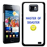 Fancy A Snuggle Master of Disaster Design Hard Case Clip On Back Cover for Samsung Galaxy S2 i9100