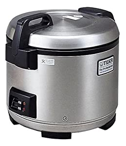 tiger cooked rice cooker professional use stainless steel. Black Bedroom Furniture Sets. Home Design Ideas