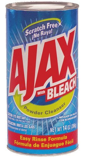 Ajax Powder Cleanser with Bleach, 14 oz (396 g ...