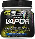 Muscletech Nano Vapor Hardcore Pre-workout Formula, Blue Raspberry - 1.23 Lbs