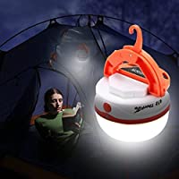 ThorFire LED Rechargeable Camping Lantern Emergency Tent Light with Magnet and Hook