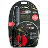Denman ProEdge Professional Comb and DVD Set