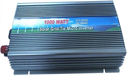 Gtsun 1000W Grid Tie Inverter Dc10.5V-28V Power Inverter For Solar Panel System