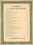 Joy, Songs By Wintter Watts