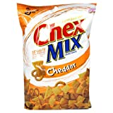 Chex Snack Mix Cheddar, 31-Ounce Bags (Pack of 10) ~ General Mills Salty...