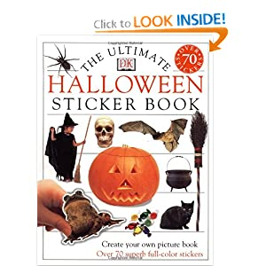 The Ultimate Halloween Sticker Book DK Publishing