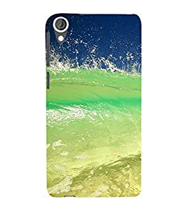 printtech Nature Sea Waves Back Case Cover for HTC Desire 820