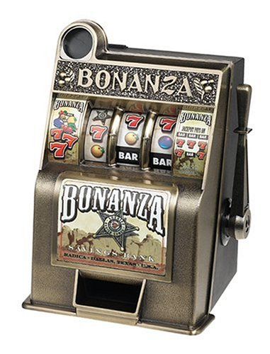 Bonanza Slot Bank, Slot Machine Bank