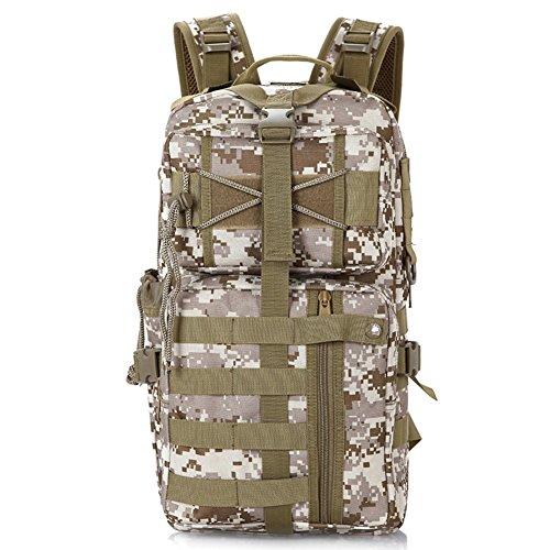 les fans de l'armée sac à bandoulière / sac à dos ordinateur / extérieur tactique sac / multifonction sac camouflage-4 35L