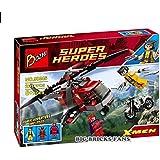 Wolverine's Chopper Showdown Magneto Vs Deadpool Super Heroes Compitable with Lego