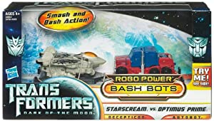 Bumblebee v Megatron - Transformers Movie 3 Bashbots