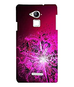 printtech Floral Light Pattern Streak Back Case Cover for COOLPAD NOTE 3 / COOLPAD NOTE 3 PLUS