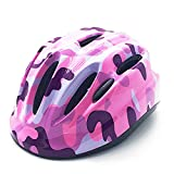 Kids Cycling Helmet Lovely & Sfety Riding Helmet Multi-Use Children Helmet for Biking and Outdoor Sports (Color: Pink)