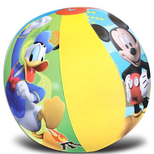 Mickey Mouse Single Beach Ball Ideal Party Favors for Birthday-brand New in Package! - 1