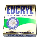 Eucryl 50g Smokers Freshmint Toothpowder