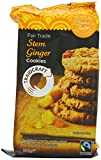 Traidcraft Fair Trade Stem Ginger Cookies 200 g (Pack of 8)