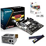 Sedatech Upgrade Bundle (AMD A4-5300 FM2 2x3.40Ghz, 8Gb RAM, ATI Radeon HD7480D, 430W 80+, Motherboard Asrock FM2A75M-DGS, USB 3.0, Full HD 1080p)