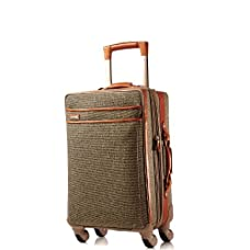 Hartmann Tweed Belting Mobile Traveler Expandable Spinner 21
