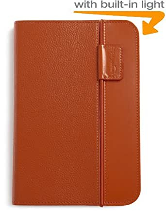 Amazon Kindle Keyboard Lighted Leather Case (3rd Generation - 2010 release), Burnt Orange