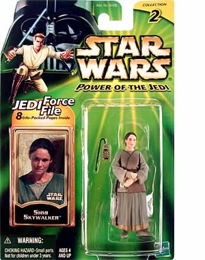 Star Wars Power Of The Jedi Shmi Skywalker Action Figure by Hasbro