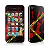 Apple iPhone 4用スキンシール【Crime Scene】