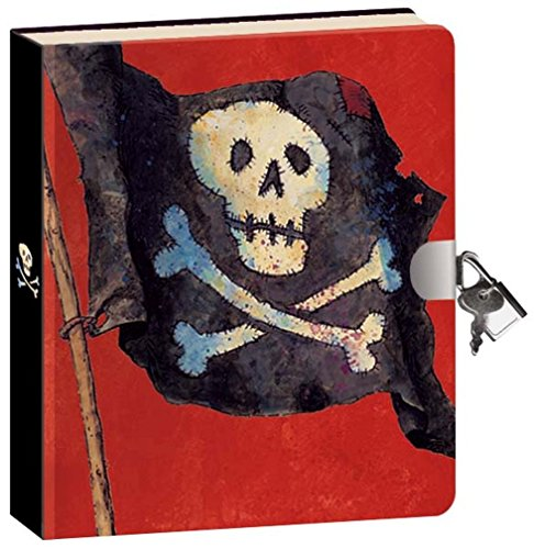 Peaceable Kingdom Pirates Lock and Key Diary - 1