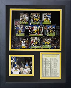 Legends Never Die 2008 Pittsburgh Steelers Framed Photo Collage, 11x14-Inch by Legends Never Die