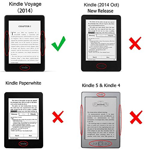 how to get out of a book on kindle voyage