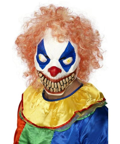 Smiffys Men's Evil Clown Mask