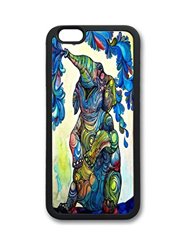 Fantastic Faye Pc Material Abstract Oil Paintig Elephant Cute Colorful Cartoon Lovely Cell Phone Cases Special For Iphone 6 No.1