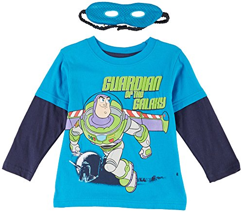 "Disney Boys Toy Story ""Guardian of the Galaxy"" T-Shirt with Cape and Mask Set"
