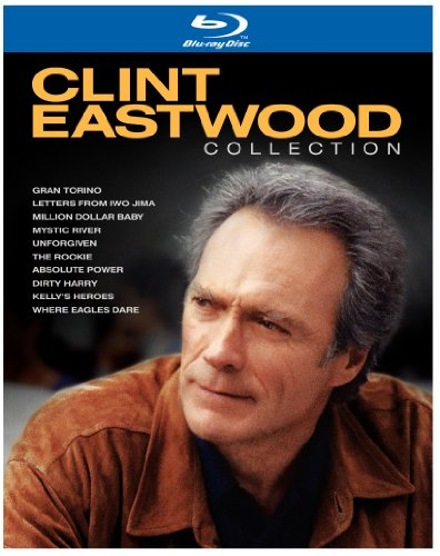 Clint Eastwood Collection (Absolute Power / Dirty Harry / Gran Torino / Kelly's Heroes / Letters from Iwo Jima / Million Dollar Baby / Mystic River / The Rookie / Unforgiven / Where Eagles Dare) [Blu-ray]