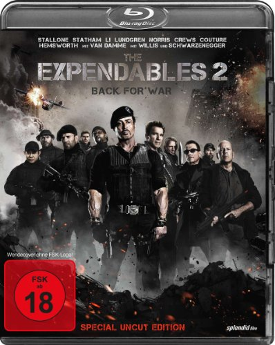 The Expendables 2 - Back for War (Special Uncut Edition) [Blu-ray] [Special Edition] hier kaufen