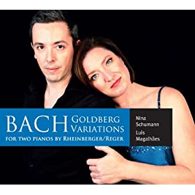 Goldberg Variations, BWV 988 (arr. J.G. Rheinberger and M. reger for 2 pianos): Variatio 25. a 2 Clav.
