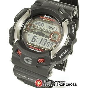 カシオ CASIO G-SHOCK Gショック ジーショック 腕時計 メンズ ソーラー電波時計 GULFMAN ガルフマン GW-9110-1JF ブラック