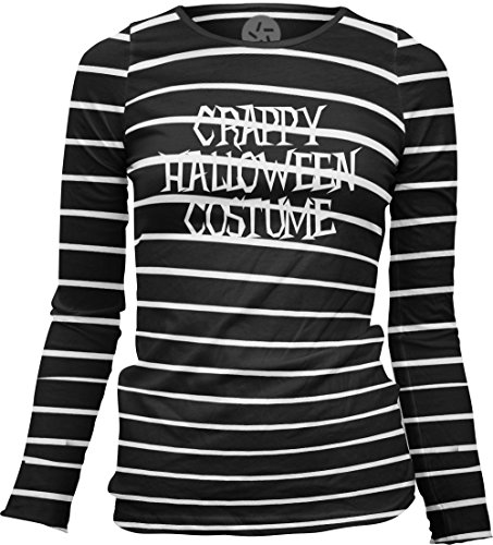 Big Texas Crappy Halloween Costume (White) Women's Sheer Long-Sleeve Top