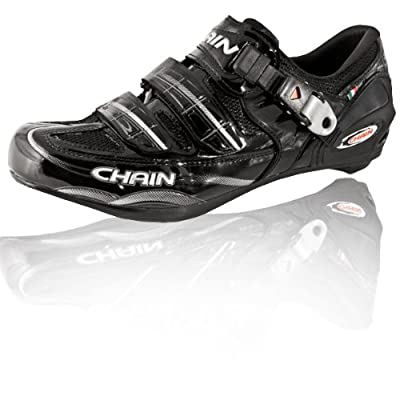 Sole Technical Road Cycling Shoes 43.5 (US 9.5) Black - Made in Italy