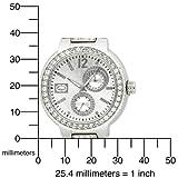Marc Ecko Men's E13580G1 Cool Chronograph Silver-Tone Bracelet Watch