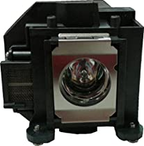 Replacement for Epson Hd 1080 Bare Lamp Only Projector Tv Lamp Bulb by Technical Precision