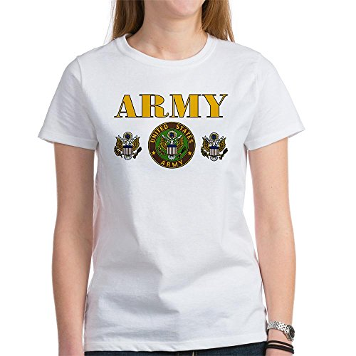 Royal Lion Women'S T-Shirt United States Us Army Military Seal - Small