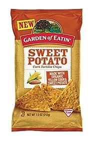Garden of Eatin' Sweet Potato Corn Tortilla Chips, 7.5 Ounce (Pack of 12)