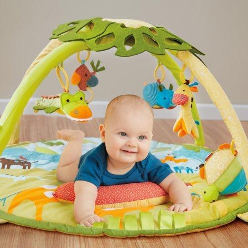 Skip Hop Giraffe Safari Activity Gym Toy Toy, Kids, Play, Children front-805524