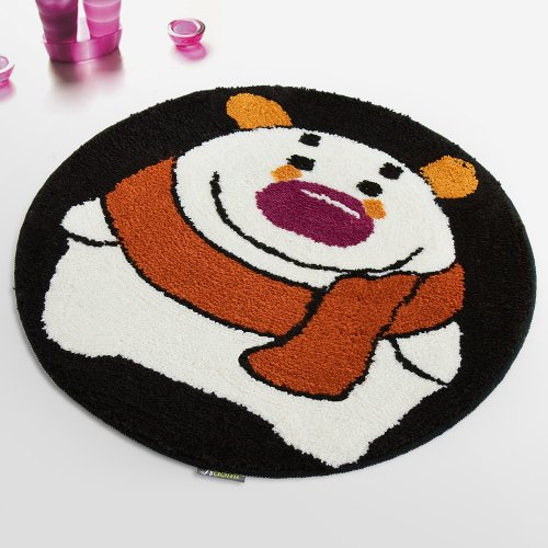 Naomi - [Winter Bear] Kids Room Rugs (23.6 by 23.6 inches)