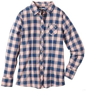 ESPRIT - Camisa clásico de manga larga para niña