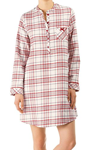 CALIDA Bedtime Stories Flanell-Big Shirt Damen
