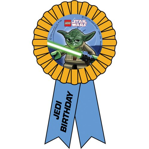 Star Wars Lego Birthday Party Guest of Honor Ribbons 1 per Pack